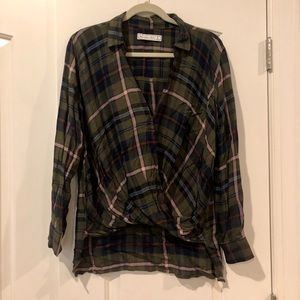 Abercrombie & Fitch | Green Flannel
